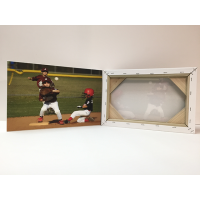 Little league canvas print